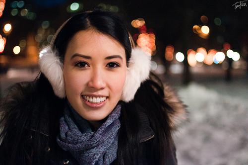 Facial skin care in winter